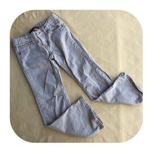 5/$10 Basic Editions bootcut khaki jeans girls 6X